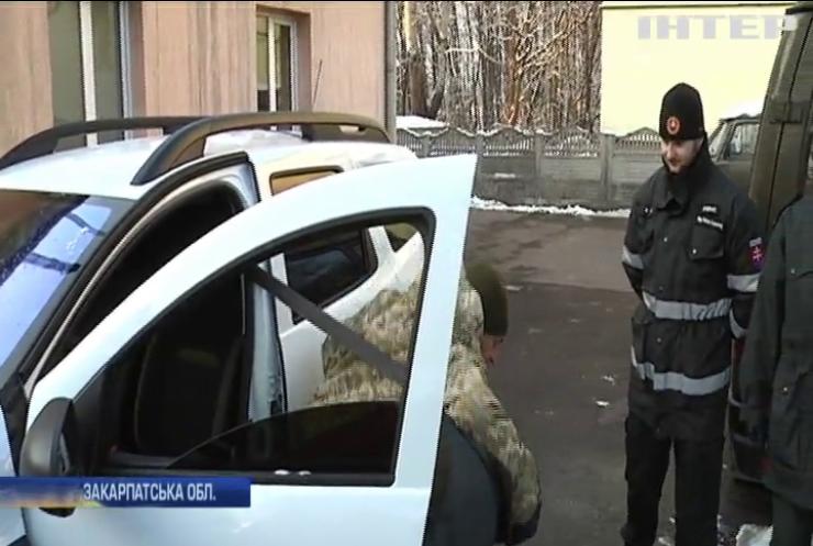Прикордонники України та Словаччини навчалися спільно затримувати злочинців