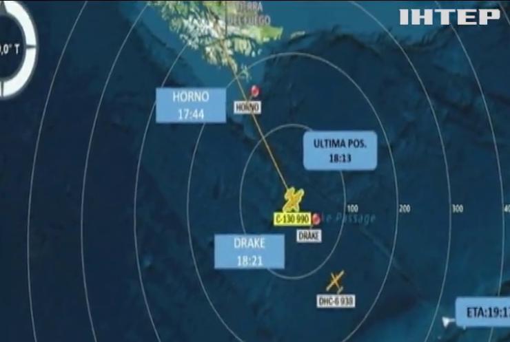 Чилійський літак розбився на шляху до Антарктиди