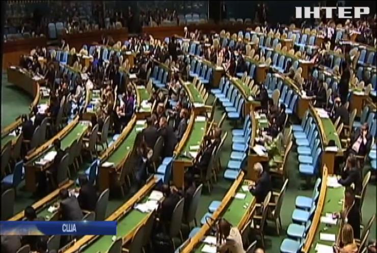 Генасамблея ООН ухвалила кримську резолюцію
