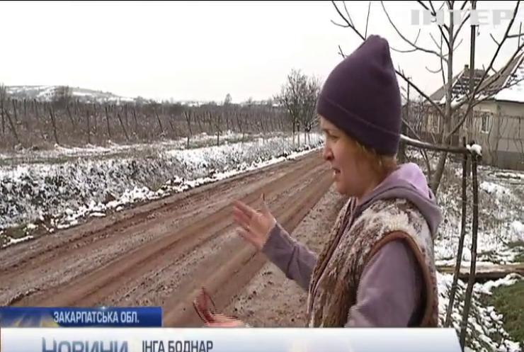Ремонт дороги у Лоховому закінчився скандалом