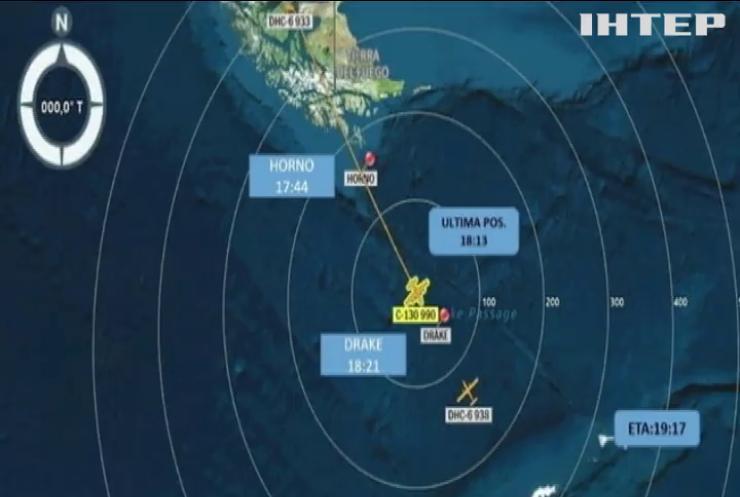 Чилійський військовий літак зазнав аварії по дорозі до Антарктики