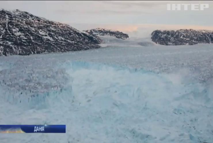 Льодовики Гренландії почали танути всемеро швидше