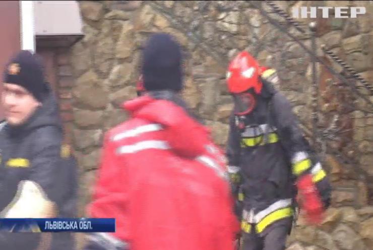 На Львівщині відбулися масштабні навчання пожежників