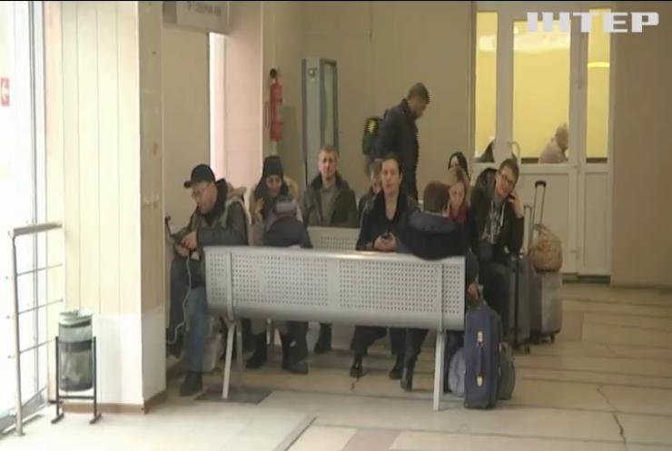 Туман паралізував роботу аеропорту Запоріжжя