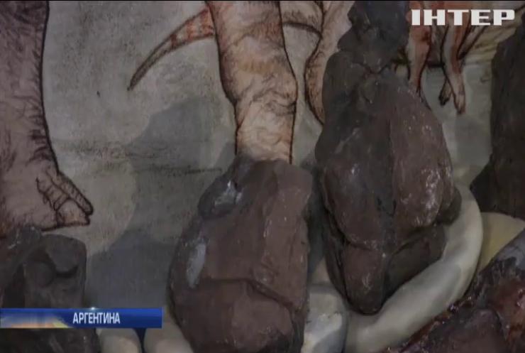 Аргентинці представили світові двох нових динозаврів