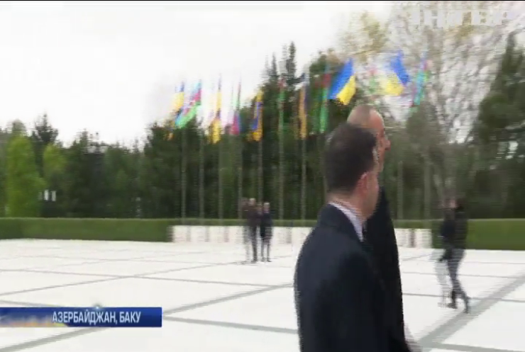 Володимир Зеленський провів важливу зустріч з президентом Азербайджану