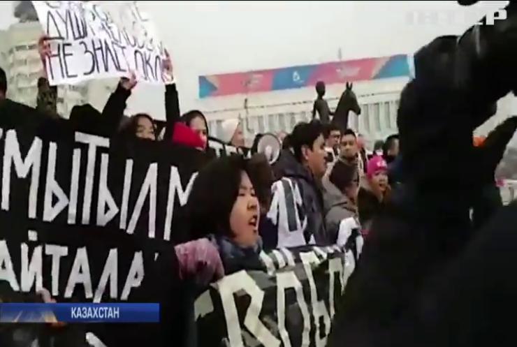 У Казахстані в День Незалежності затримали близько сотні людей