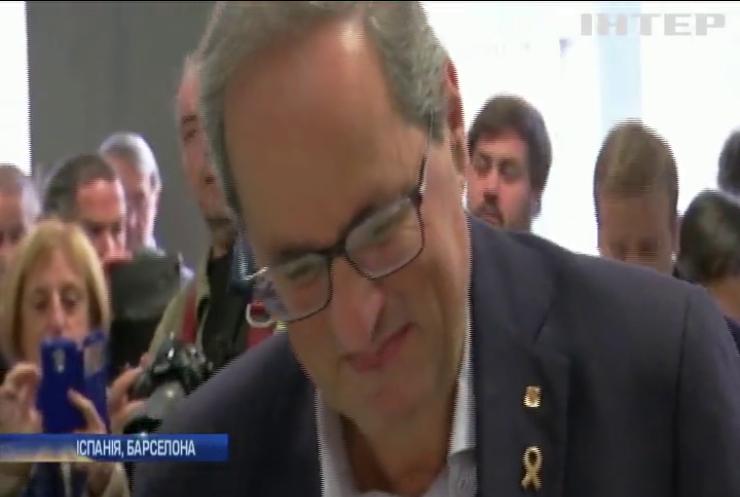 Лідера уряду Каталонії засудили за непокору