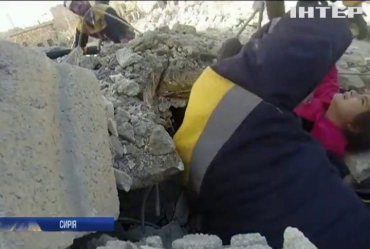 Дії урядових військ призвели до гуманітарної катастрофи у Сирії