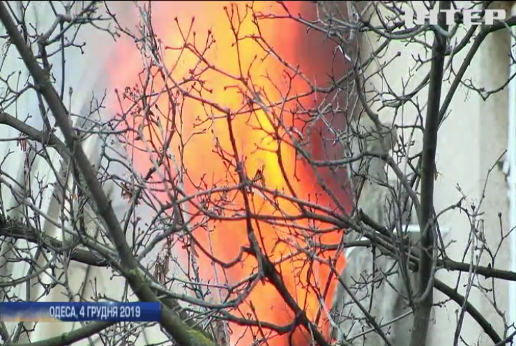 В уряді оприлюднили причини пожежі в Одеському коледжі