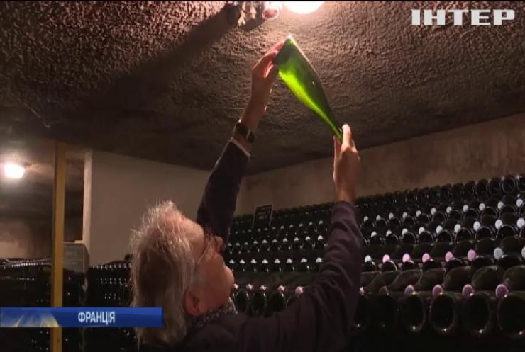 Французький винороб покращує смак шампанського музикою