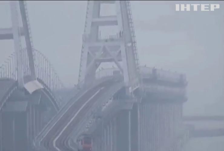 Запуск залізничної частини Кримського мосту засудили в ООН