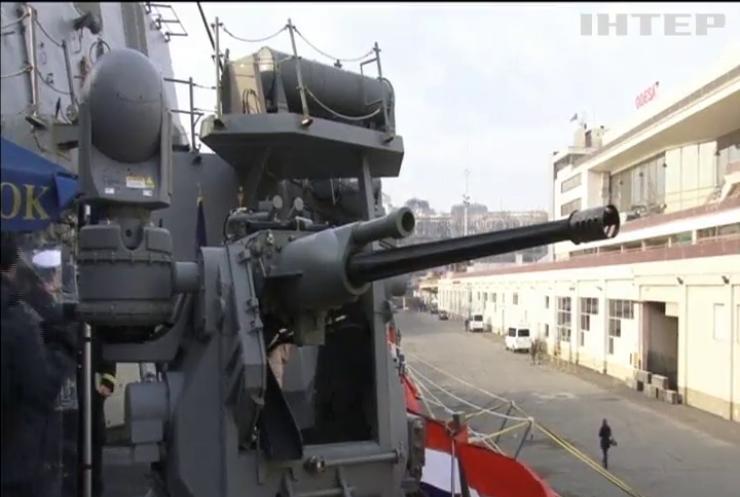 Американський ракетний есмінець Ross прибув до Одеси