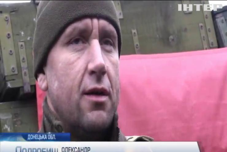 На Донбасі противник веде вогонь із важкої зброї