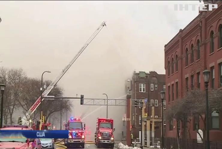 У США через пожежу евакуювали мешканців житлового будинку