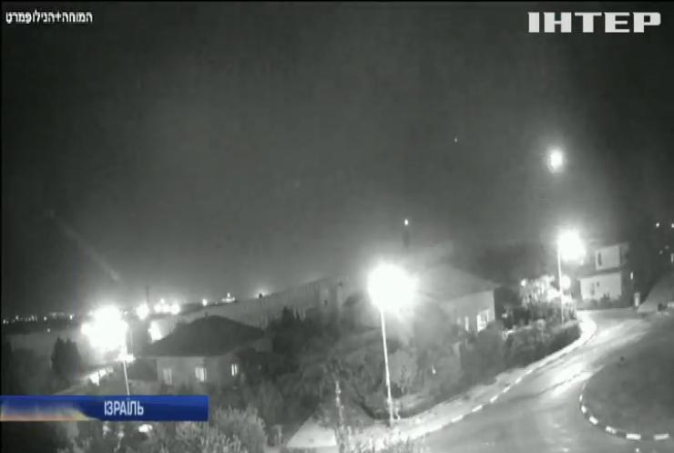 По ізраїльському місту Ашкелон випустили ракету