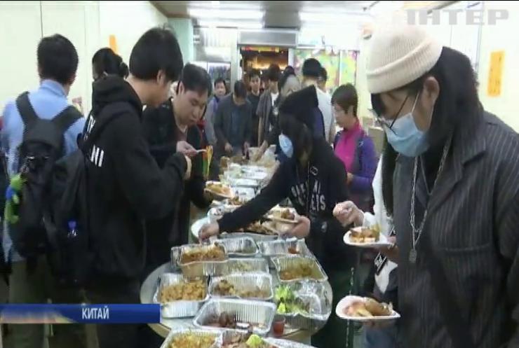 Кухарі Гонконгу почали підгодовувати протестувальників