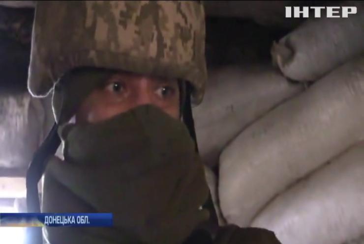 На Донбасі противник застосував заборонені калібри