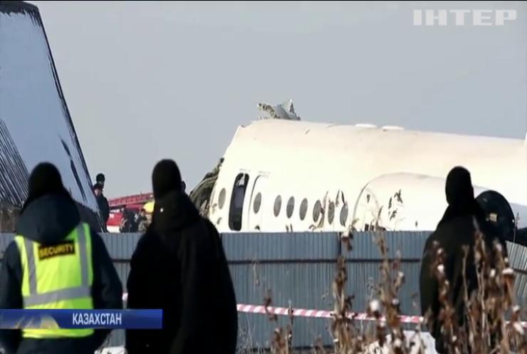 У Казахстані оприлюднили основні версії катастрофи пасажирського літака