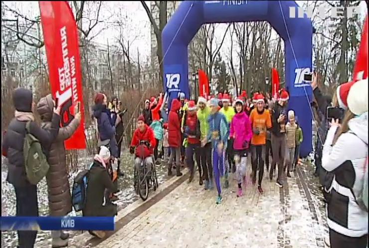 У Києві початок Нового року відзначили святковим марафоном