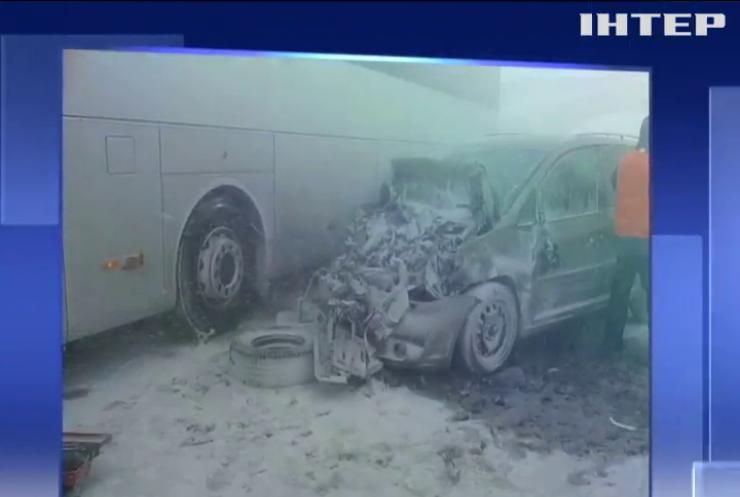 У Словаччині в масштабній ДТП постраждали українці