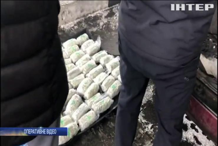 Харківські прикордонники затримали рекордну партію наркотиків