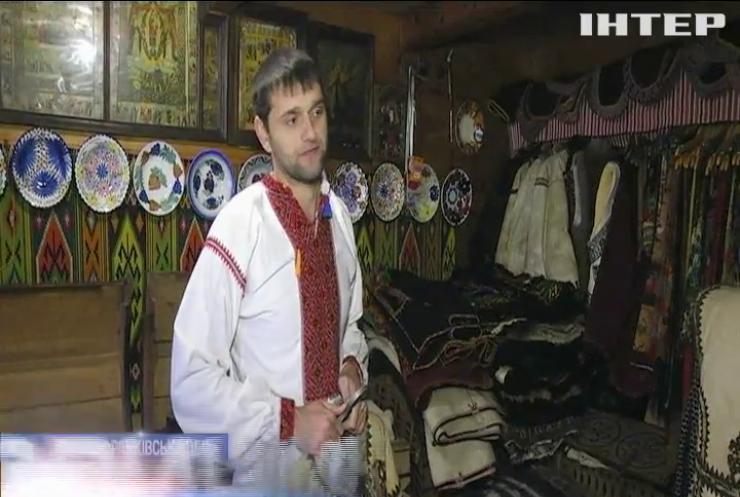 Житель Прикарпаття започаткував музей гуцульських старожитностей