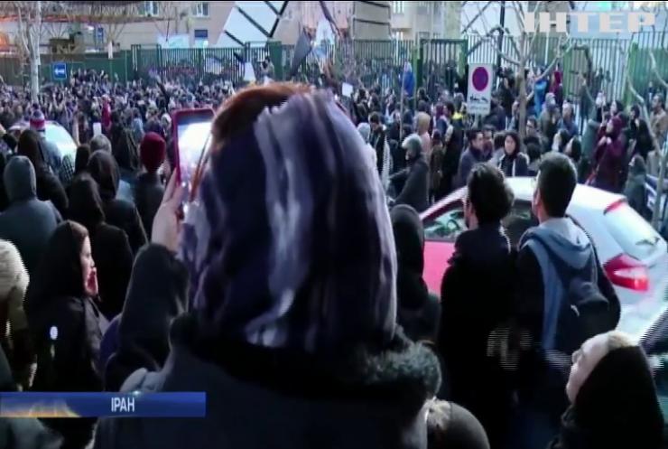 Зірки спорту та шоу-бізнесу долучилися до антиурядових протестів у Ірані