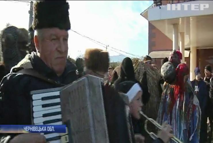 Вертеп, карнавал та солом'яні ведмеді: на Буковині відзначають свято Маланки