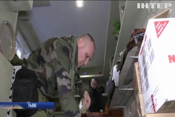 Жителі Львова приготували для бійців ООС смачні гостинці