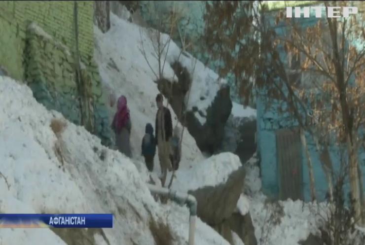 Афганістан накрило рекордним холодом