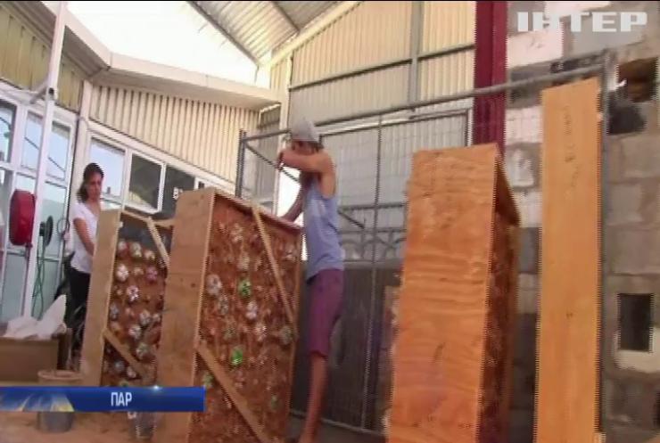 У Кейптауні організували виробництво цегли зі сміття