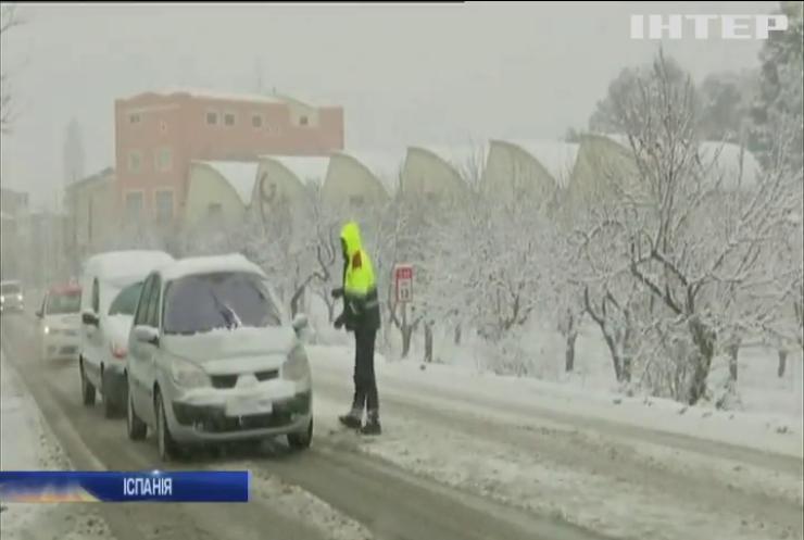 Зимовий шторм в Іспанії: серед загиблих є українець