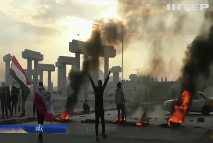 В Іраку не вщухають антиурядові протести
