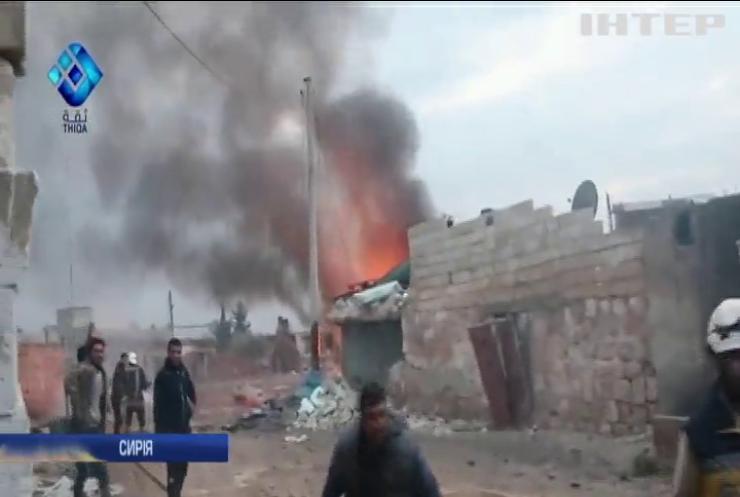 Удари російської авіації в Сирії: загинули цілі родини