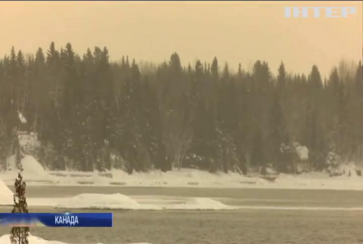 Французи влаштували катання на снігоходах у Канаді та втонули
