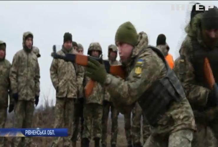 На Рівненському полігоні тривають військові навчання за стандартами НАТО