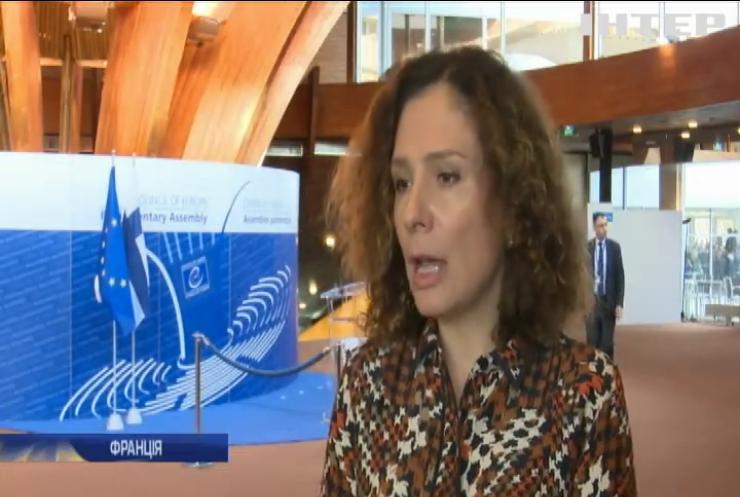 Українська делегація в ПАРЄ наполягає на розгляді гуманітарних проблем окупованих територій - Юлія Льовочкіна