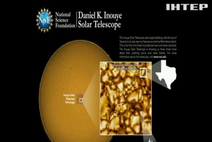 Американські науковці опублікували найдетальніші знімки поверхні Сонця