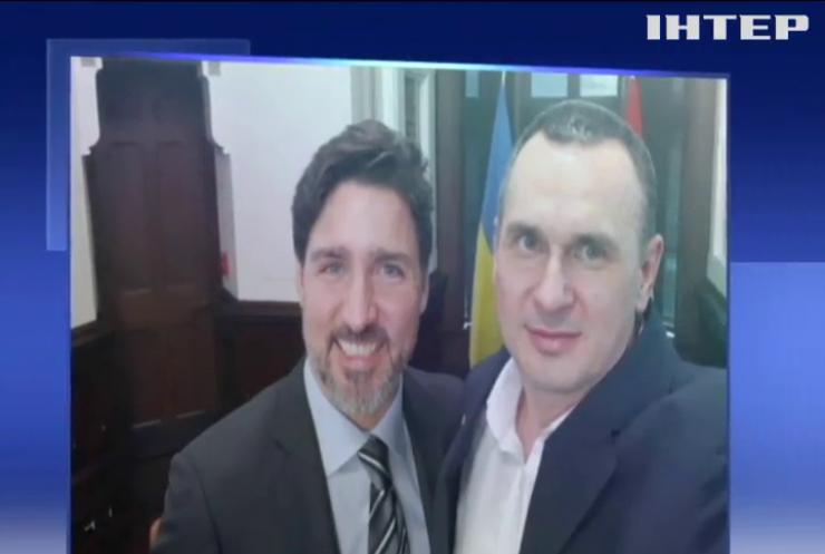Кримчанин Олег Сенцов прибув із візитом у Канаду