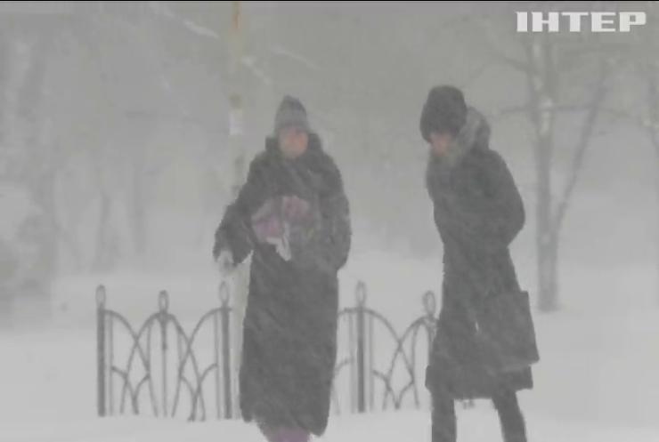 Снігопади в Україні знеструмили десятки населених пунктів