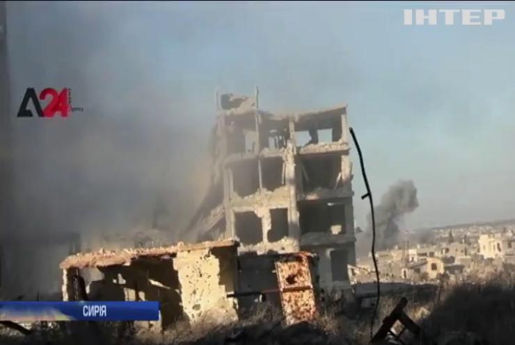 США назвали винуватих у ескалації конфлікту у Сирії