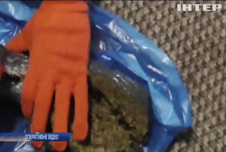 У наркоділка вилучили канабіс на 2 мільйони