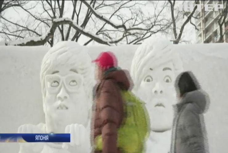 Японці благають богів дати снігу