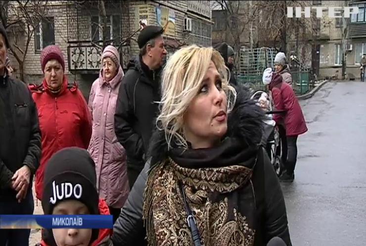 У Миколаєві руйнується багатоквартирний будинок