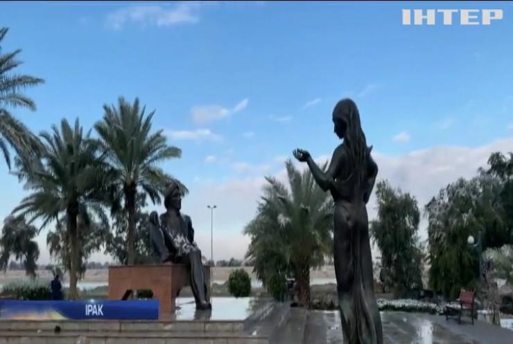 В Багдаді уперше за останні 12 років випав сніг