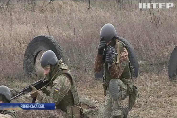 На Рівненському полігоні тривають навчання підрозділів територіальної оборони