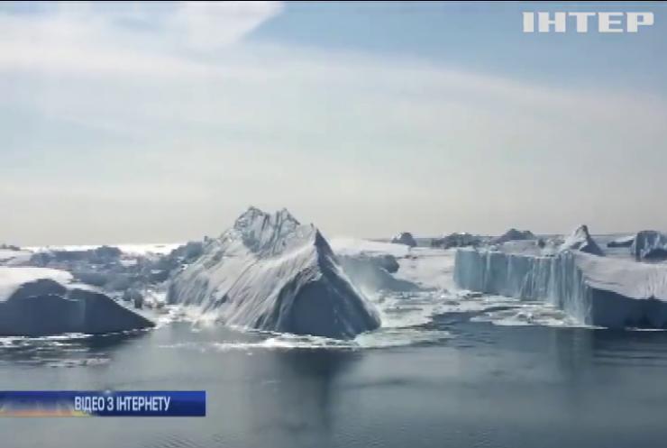 Від Антарктиди відколовся гігантський айсберг (відео)