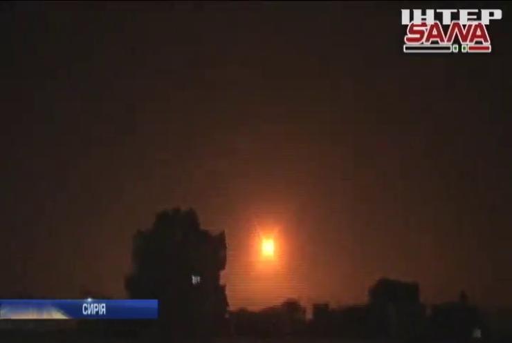 У Сирії заявили про успішне перехоплення ізраїльських ракет