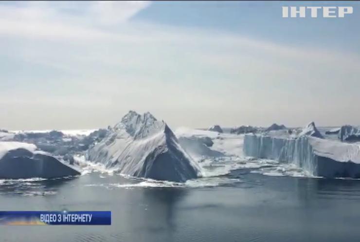 Від Антарктиди відколовся велетенський айсберг